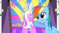 Rainbow Dash 'Alright, Princess!' S2E1