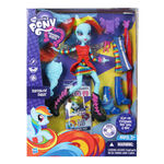 Rainbow Dash doll in packaging