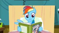 Rainbow Dash shocked by storyline S2E16