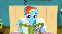 Rainbow Dash shocked by storyline S2E16