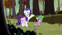 "Rarity ""even I get the odd blemish"" S8E11"