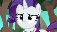 Rarity looking hopelessly lost S8E17