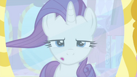 Rarity sputters at her mane MLPS1
