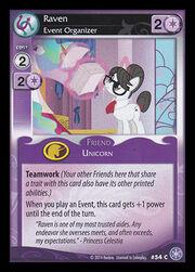 Raven, Event Organizer card MLP CCG