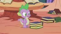 Spike book mess S1E10