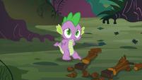 Spike embarrassed S03E09