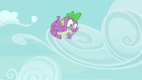 Spike falling after bubble pops S4E25