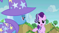 Starlight Glimmer -we're coming to offer Thorax- S7E17