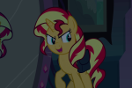 Sunset Shimmer table