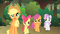 The CMC follow Applejack S1E18