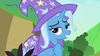 Trixie -who wouldn't be happy- S7E17