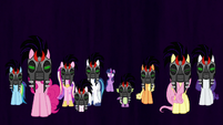 Twilight's friends under Sombra's control S9E1