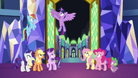 "Twilight ""with the Elements of Harmony!"" S9E1"
