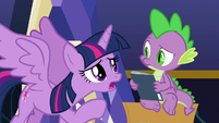 "Twilight ""you love Power Ponies"" S9E26"