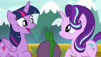 Twilight --since we're going to the Crystal Empire-- S6E1