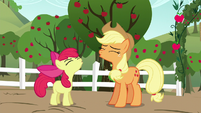 Apple Bloom and AJ -Yee-hoo!- S5E17