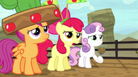 Apple Bloom apologizes to Applejack S5E6