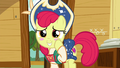 Apple Bloom blushes in embarrassment S6E4.png