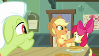 "Applejack ""too busy at the school"" S9E10"