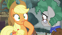 Applejack giving a fake gasp S7E25