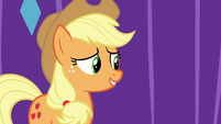 Applejack trying to calm Rara down S5E24