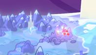 Cutie Marks flotando sobre áreas montañosas EMC-P1