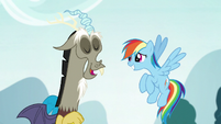 Discord recalling the weekend's events S5E22