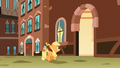 Filly Applejack sees entrance S1E23.png