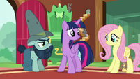 Fluttershy -he certainly knows his stuff- S7E5