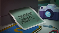 Forgotten Friendship Title Card - Finnish