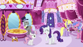 High-society ponies look at excited Rarity S6E14.png