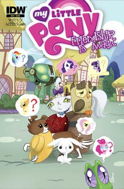 MLP Friendship is Magic 23 cover A