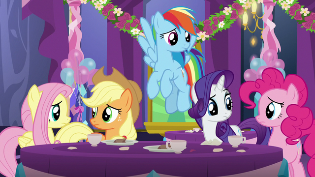 File:Main five ponies looking concerned S7E1.png