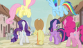 Mane Six enter the village S5E01.png