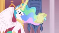 My Little Pony theme song Księżniczka Celestia patrzy list