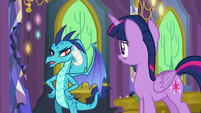 "Princess Ember ""I feel like I'm being avoided"" S7E15"