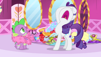 "Rarity ""The hours have been long"" S4E23"
