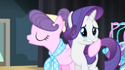 Rarity with tears in her eyes S4E08