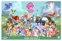 SDCC 2011 cast poster