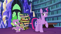 Spike cynical --twenty moons from now--- S6E21