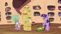 Spike sees the foals have left S4E15.png