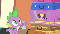 Spike with a checklist S4E24
