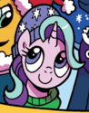 Starlight Glimmer winter outfit ID MLP Holiday Special 2017