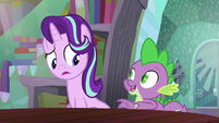 Starlight sees Spike pop out S6E2