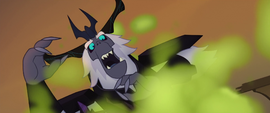 The Storm King reeling back in shock MLPTM