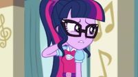 "Twilight Sparkle ""haven't heard much about"" EGS1"