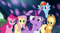 Twilight Sparkle in complete disbelief S9E2