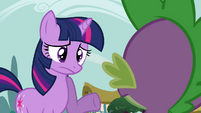Twilight raises her hoof S3E03