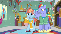 Windy Whistles in proud surprise S7E7
