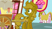 Applejack covered in glitter S3E8